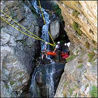 Rocky Mouth Waterfall Rescue